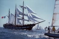 La storica partecipazione della Amerigo Vespucci